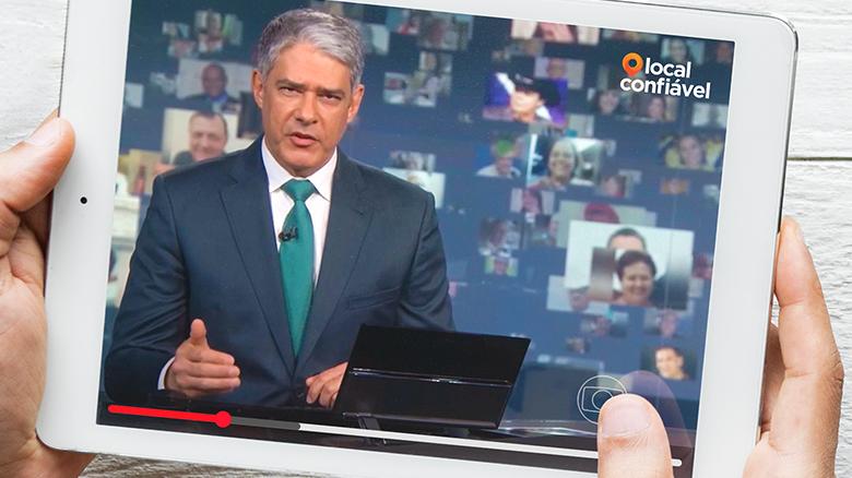 Local Confiável é destaque no Jornal Nacional - Local Confiável